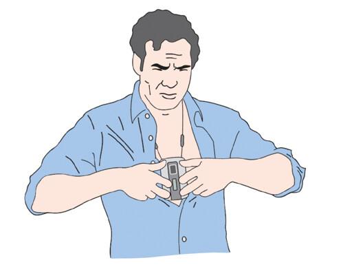 Epizodní záznamník s manuální aktivací záznamu – EKG karta