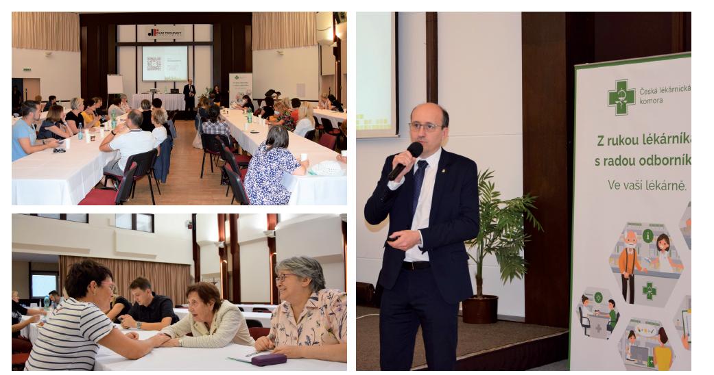 V Domě techniky v Pardubicích se 9. září uskutečnilo první z plánovaných Krajských setkání lékárníků OSL.