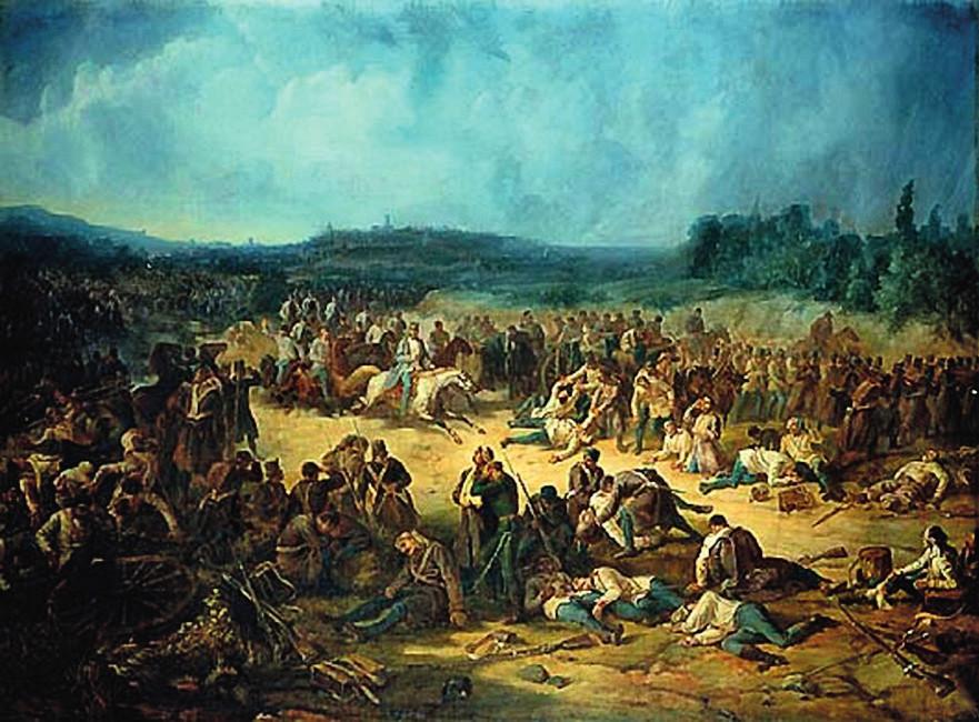 Bojiště u Solferina po bitvě