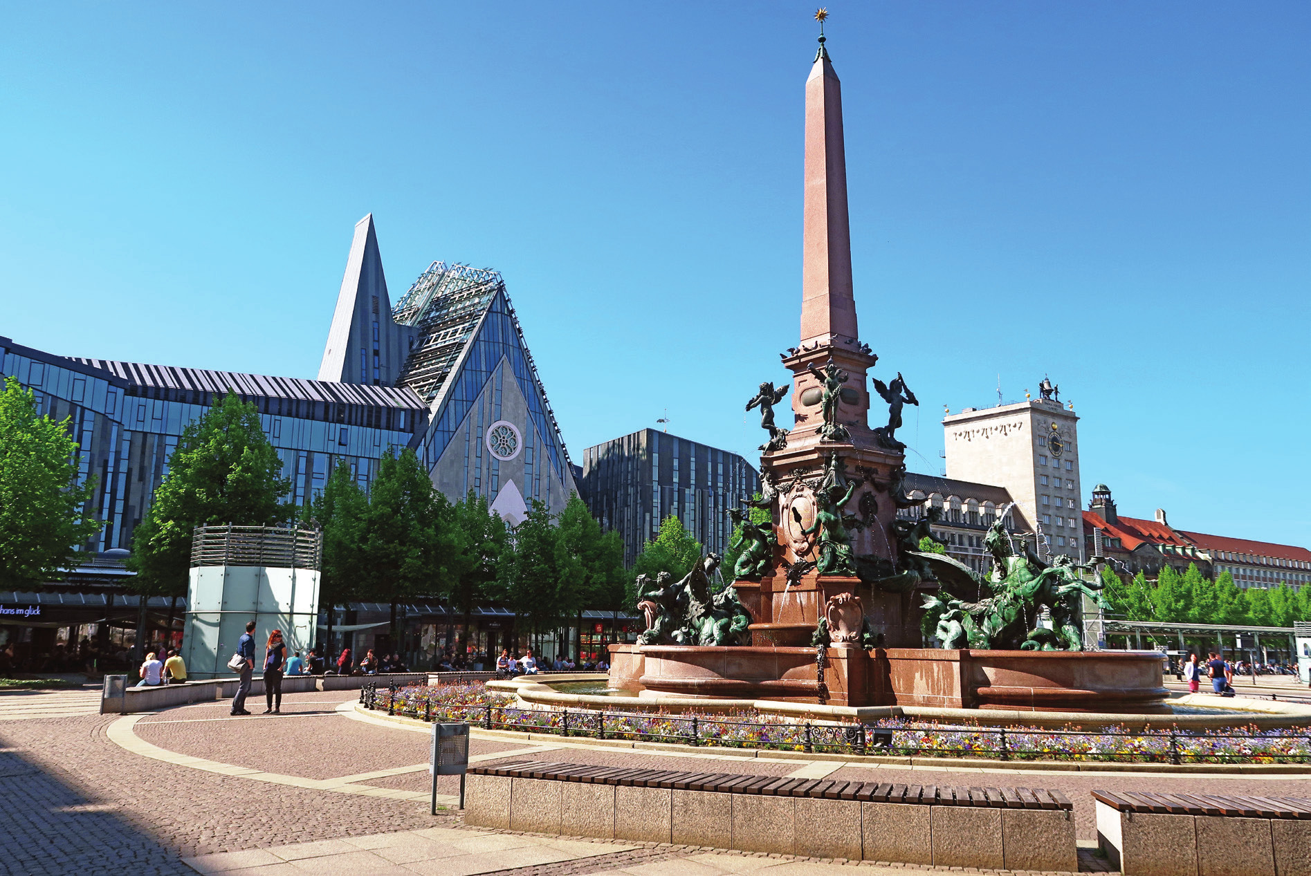 Náměstí Augustusplatz.