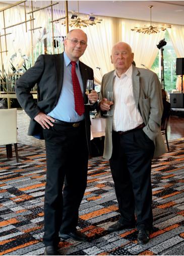 Prof. Vítovec s profesorem Štejfou