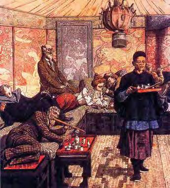 Francouzské opiové doupě. Zdroj: Wikimedia Commons (CC BY 4.0)