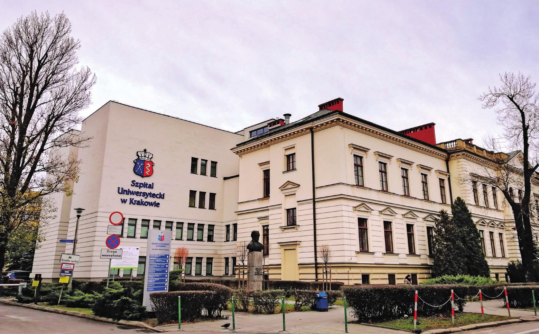 Univerzitní nemocnice v Krakově.