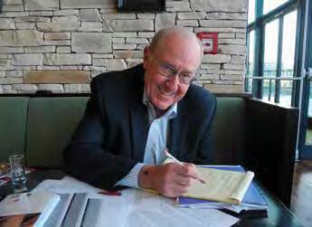 prof. T. Stanley během pražské návštěvy u doc. L. Hesse (foto doc. MUDr. L. Hess, DrSc., publikováno se svolením)