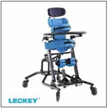 Stavěcí systém Leckey Mygo (firma Medicco).<br> Fig. 3. Standing system Leckey Mygo (by Medicco).