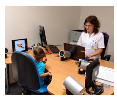 Spolupráce s dítětem při VRA vyšetření