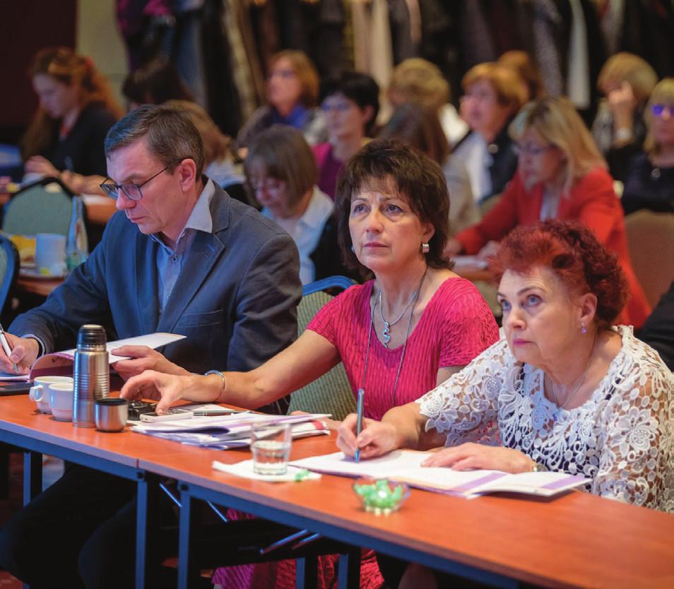 Pozorně poslouchající publikum