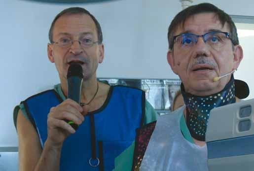 Prim. V. Nosek a dr. M. Giovaninni.
