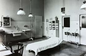 Vybavení chirurgické ambulance v pavilonu B3