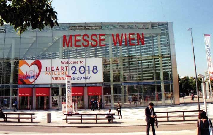 Evropský kongres srdečního selhání ve Vídni.
