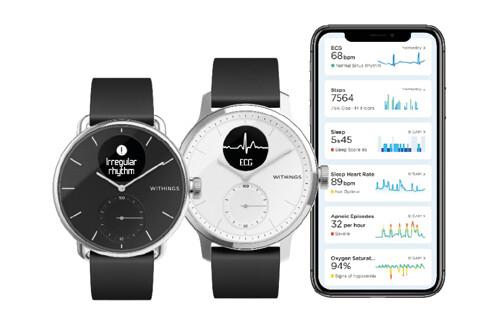 Chytré hodiny a rozhranní společnosti Withings