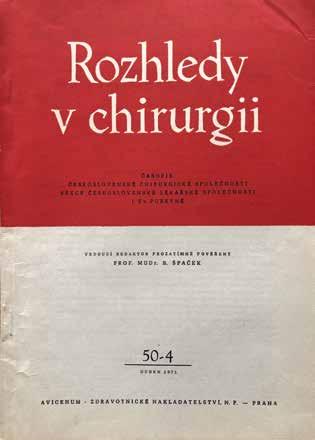Dubnové číslo 1971 při 50. výročí založení časopisu