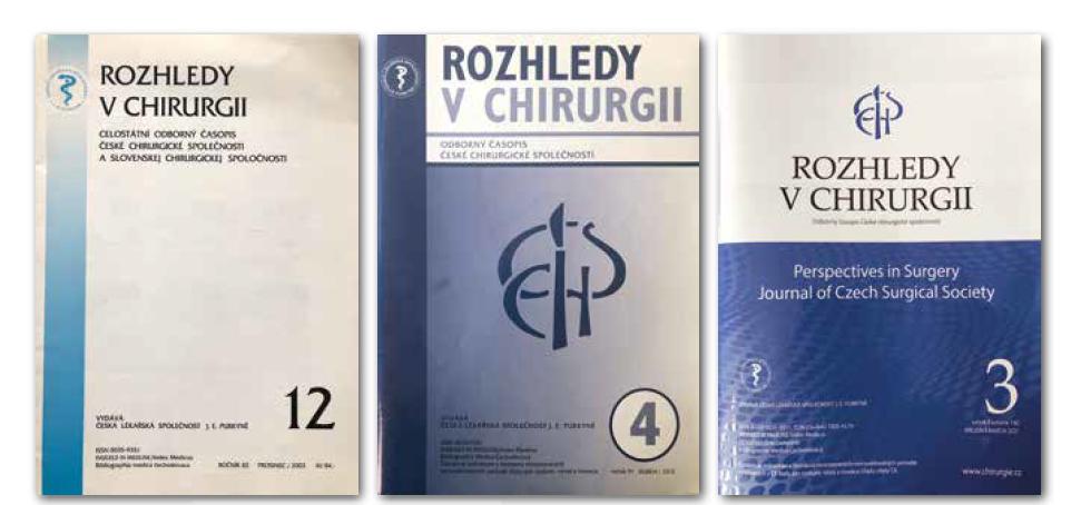, 8, 9: Vývoj designu časopisu na začátku tohoto století