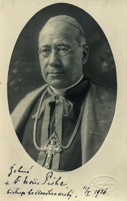 Biskup ThDr. Mořic Pícha, O.S.L.J.