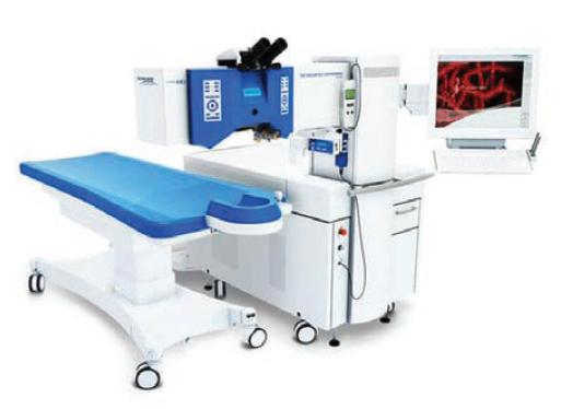 Excimerový laser Excimer Amaris 500 (Schwind eye-tech-solutions GmbH and Co KG, Kleinostheim, Germany)