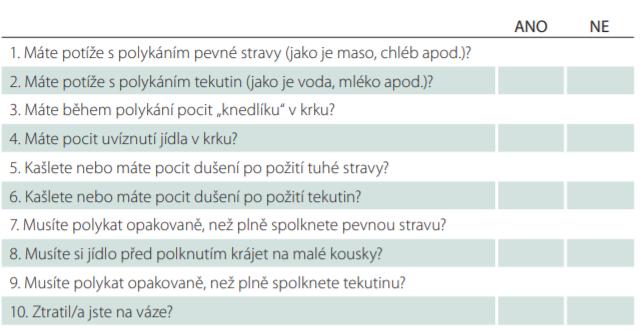 Dotazník DYMUS – česká verze