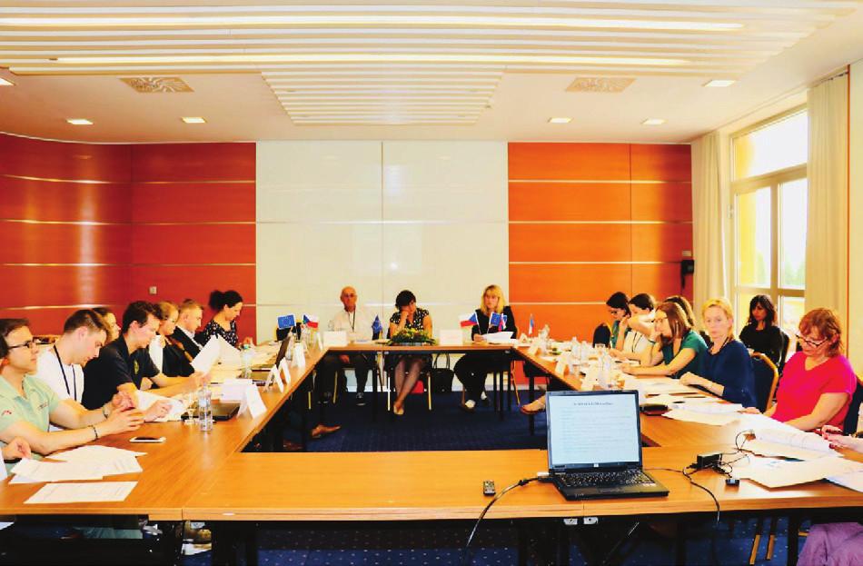 Foto 8. Druhý den jednání FIP7 programu projektu EUROAGEISM H2020