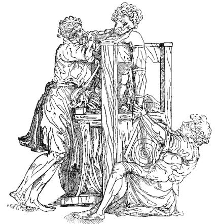 Repoziční manévr tahem + protitahem podle Hippokrata