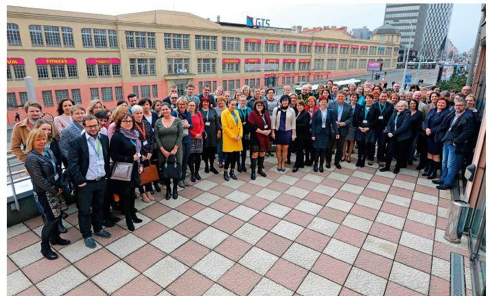 Fotografie z posledního setkání Kooperativní lymfomové skupiny v roce 2018