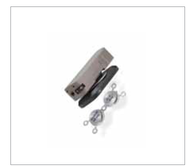 Implantát Sophono s rečovým procesorom Alpha 2 MPO.<br> Zdroj: firma Medtronic.<br> Fig. 1. Sophono implant with Alpha 2 MPO speech processor.<br> Source: Medtronic company.