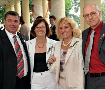 Prof. Vítovec, prof. Špinar a jejich Lenky
