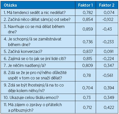 Faktorová analyza české DAIR