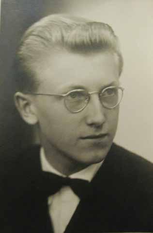 Zdeněk Mraček jako student