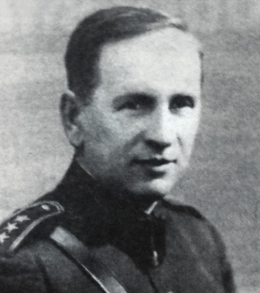 Jaroslav Durych v důstojnické uniformě
