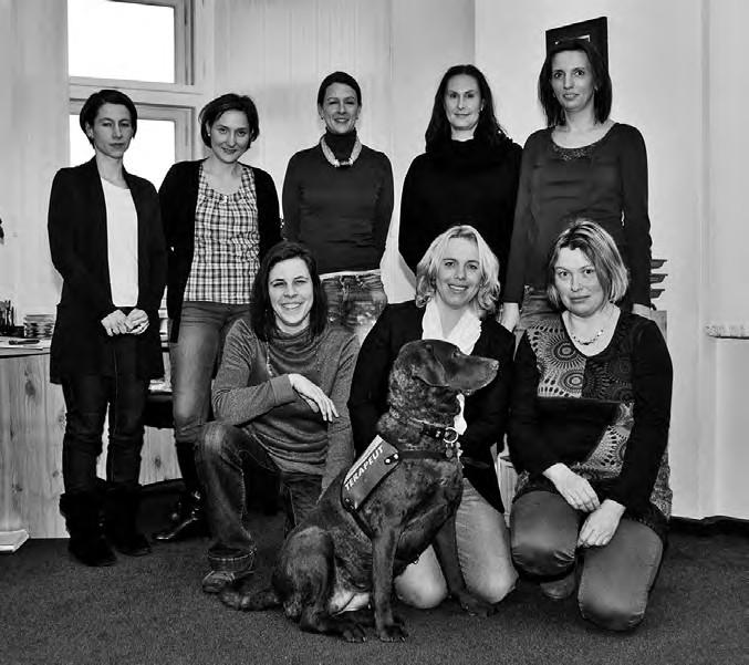 (horní řada zleva doprava): Lucie Durdilová, Zuzana Lebedová, Barbora Červenková, Naděžda Lasotová, Jitka Mercelová<br> (dolní řada zleva doprava): Barbora Richtrová, Ester Lochmanová, Irena Šáchová