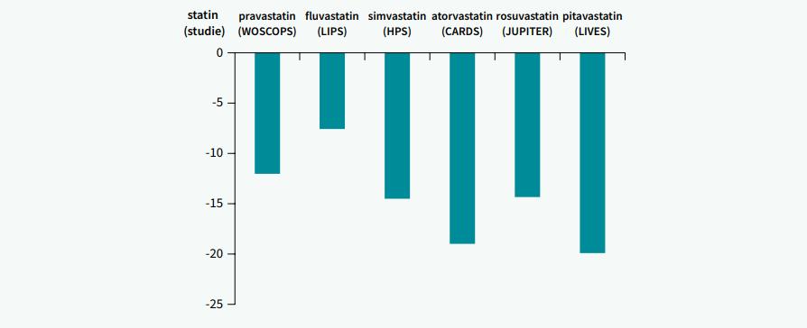 Vliv statinů na hladiny TG