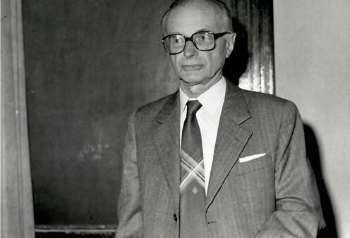 Prof. Šonka na počátku 80. let