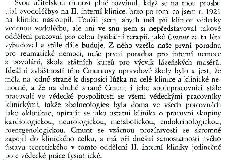 Profesor Pelnář – Věstník československé fyziatrické společnosti, 1938