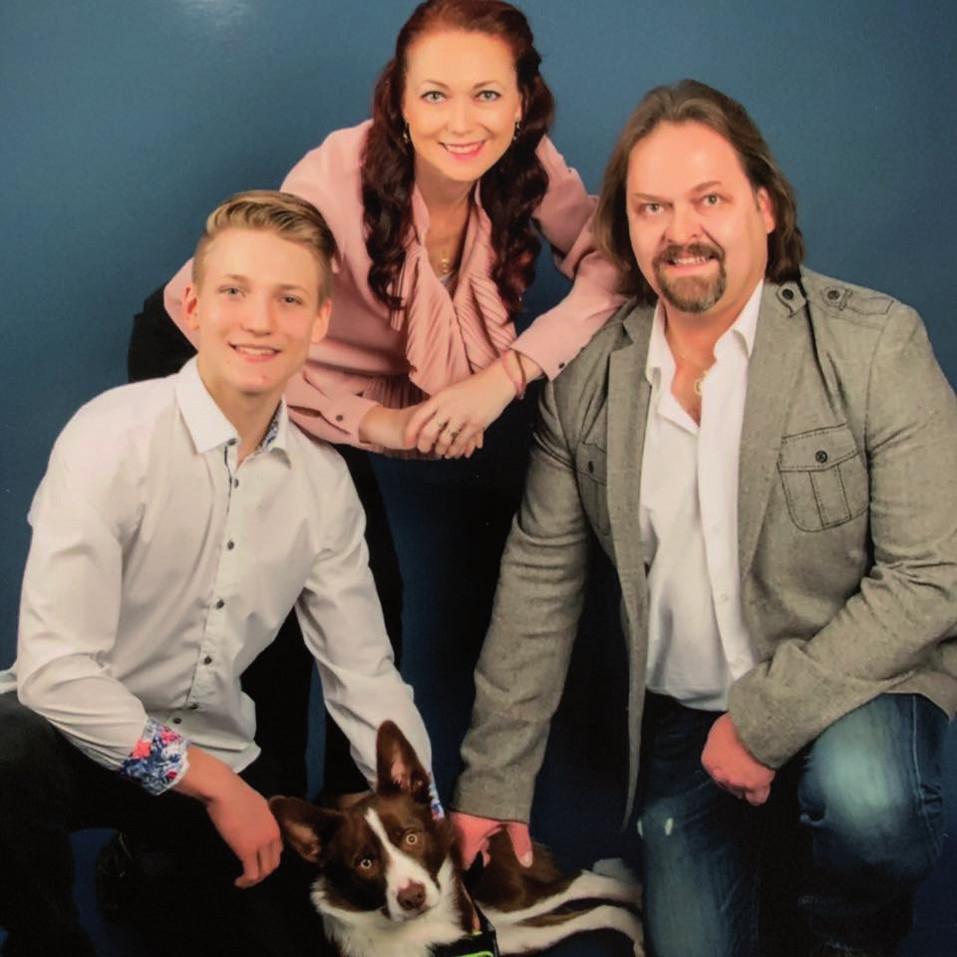 Veronika Orendášová s rodinou