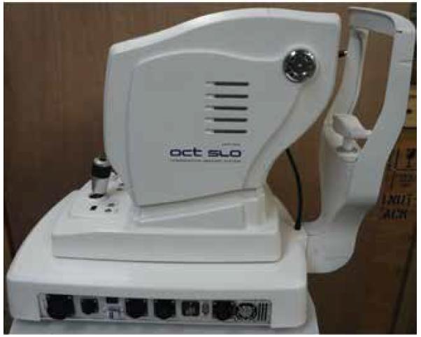 Přístroj Spectral Optical Coherence Tomography