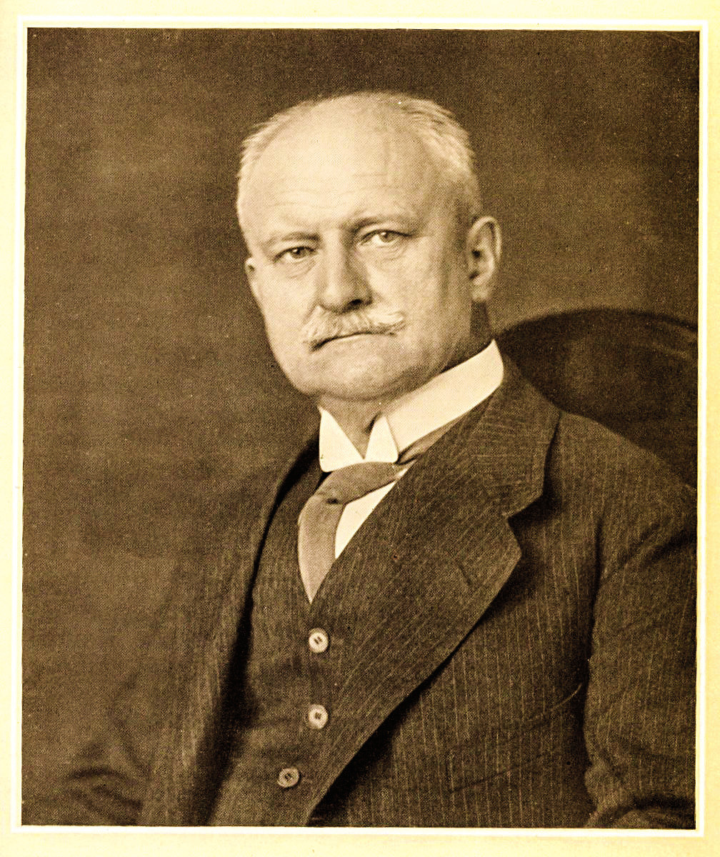 August Karl Gustav Bier. Archiv Landessportbund Berlin, otištěno se svolením