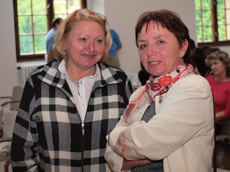 S Mgr. Annou Šolastrovou na jedné z Konferencí mladých lékárníků v Opavě. Bylo to docela dávno. Foto: Jiří Kotlář