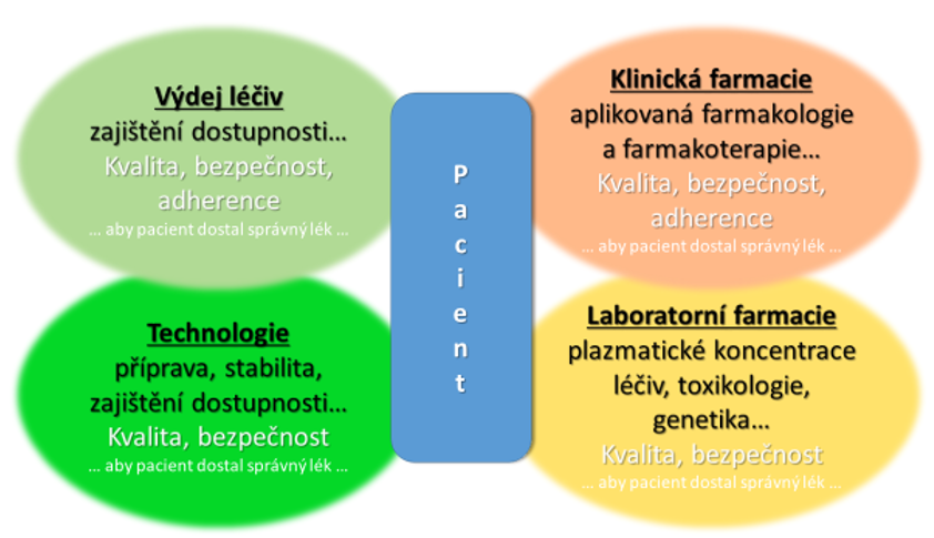 Základní okruhy specializačního směřování farmaceutů a jejich uplatnění v praxi